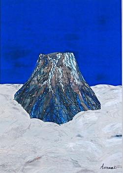 Iindigo and Mt.Fuji /群青と富士