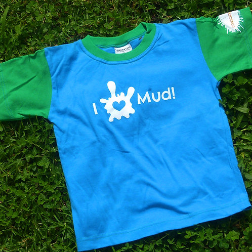 Conscious Kids Tee - Blue and Green