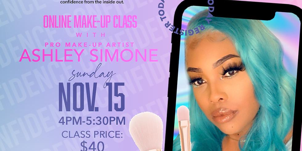 Online Make-up Class w/ Ashley Simone