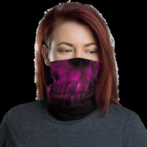 Pink Skull Neck Gaiter