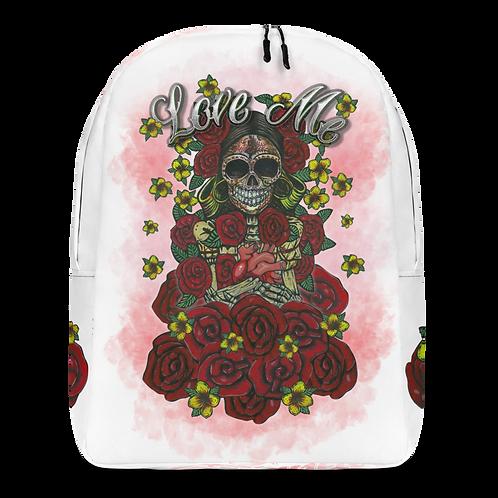 Love Me White Backpack
