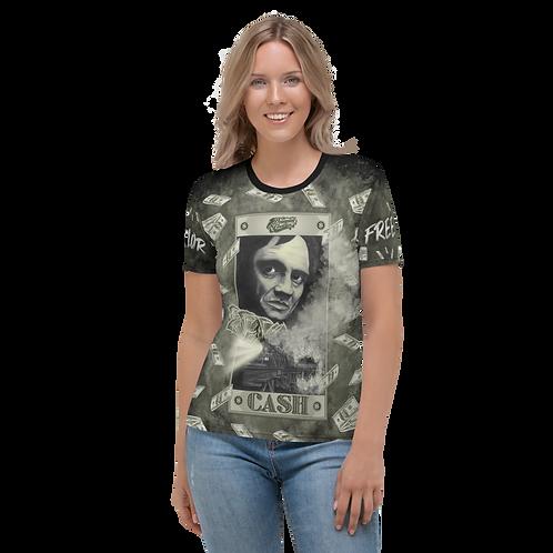 Johnny Cash Women T-Shirt