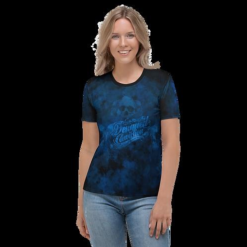 Blue Smoke Women T-Shirt