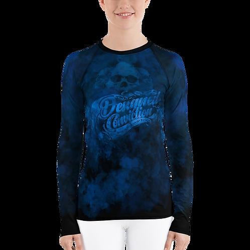 Blue Smoke Women Long Sleeve Shirt