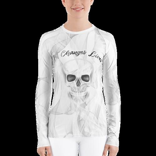Art Changes Lives Women Long Sleeve Shirt