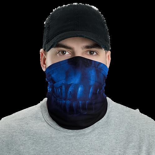 Blue skull Neck Gaiter