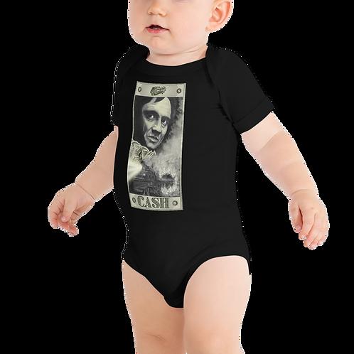 Johnny Cash Baby Short Sleeve One Piece