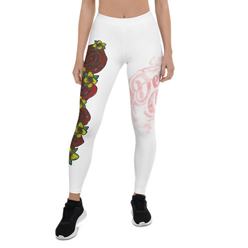 Love Me Women White Leggings