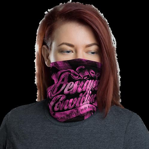 Designed Conviction Pink Neck Gaiter