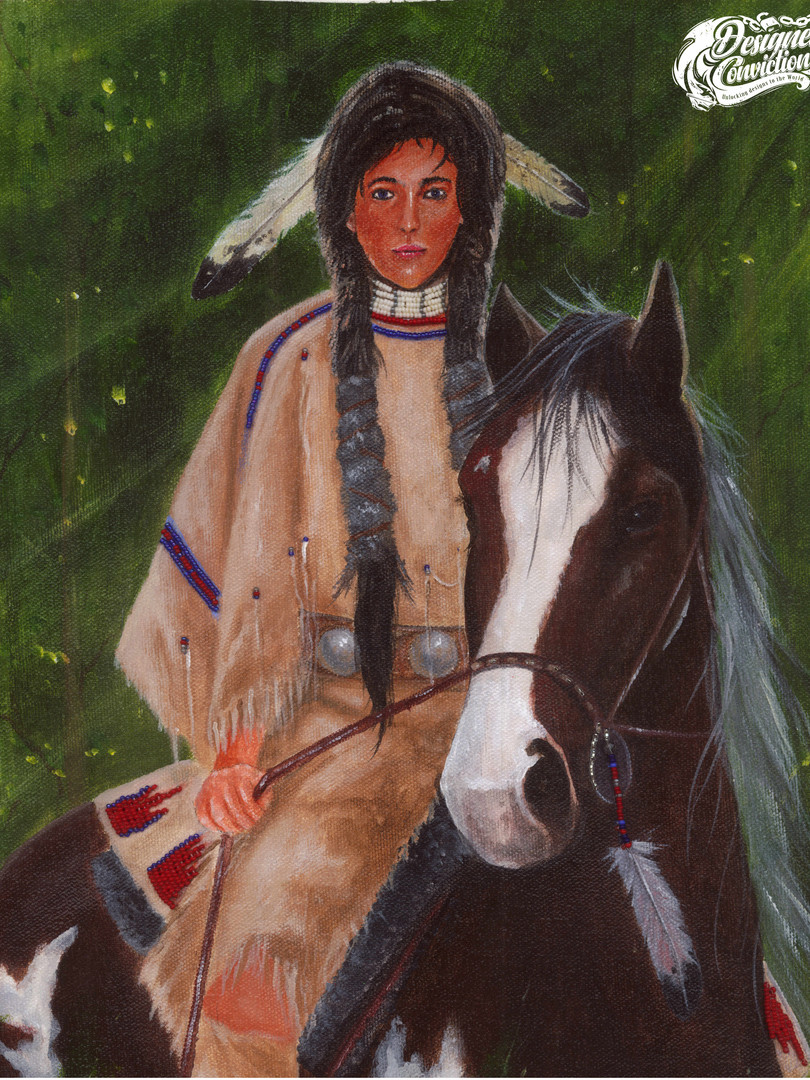 Native American & Hourse