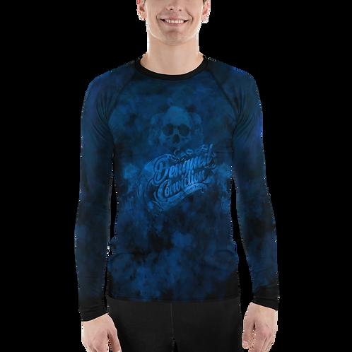 Blue Smoke Men Long Sleeve Shirt