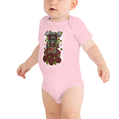 Love Me Pink Baby Short Sleeve One Piece