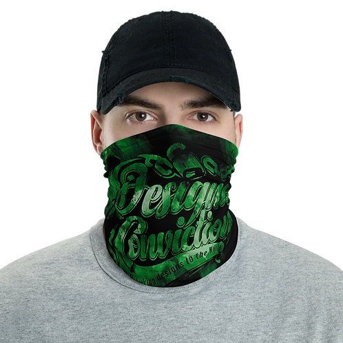 Designed Conviction Green Neck Gaiter