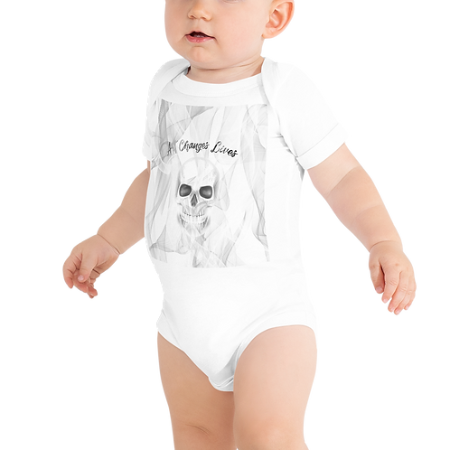 Art Changes Lives Baby Short Sleeve One Piece