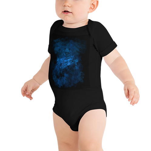 Blue Smoke Baby Short Sleeve One Piece