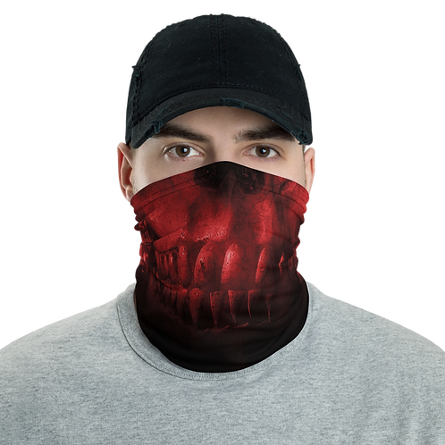 Red Skull Neck Gaiter