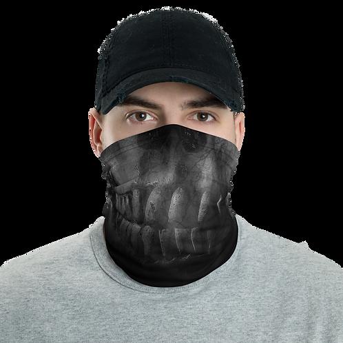 Gray Skull Neck Gaiter