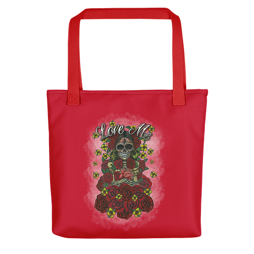 Love Me Red Tote Bag