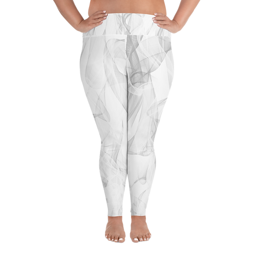 Art Changes Lives Women Plus Size Leggings