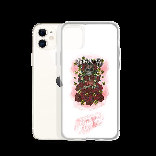 Love Me White iPhone Case