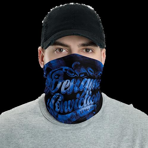 Designed Conviction Blue Neck Gaiter