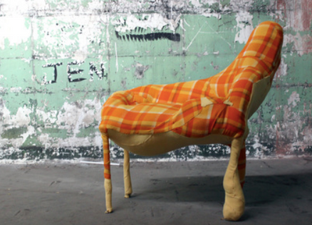 Throne, 2013.  Found, Magdelan Laundry Abbotsford Convent.  Dimensions variable.  Image courtesy of artist