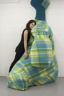 Hug, Comfort Zone 2014.  Dimensions variable