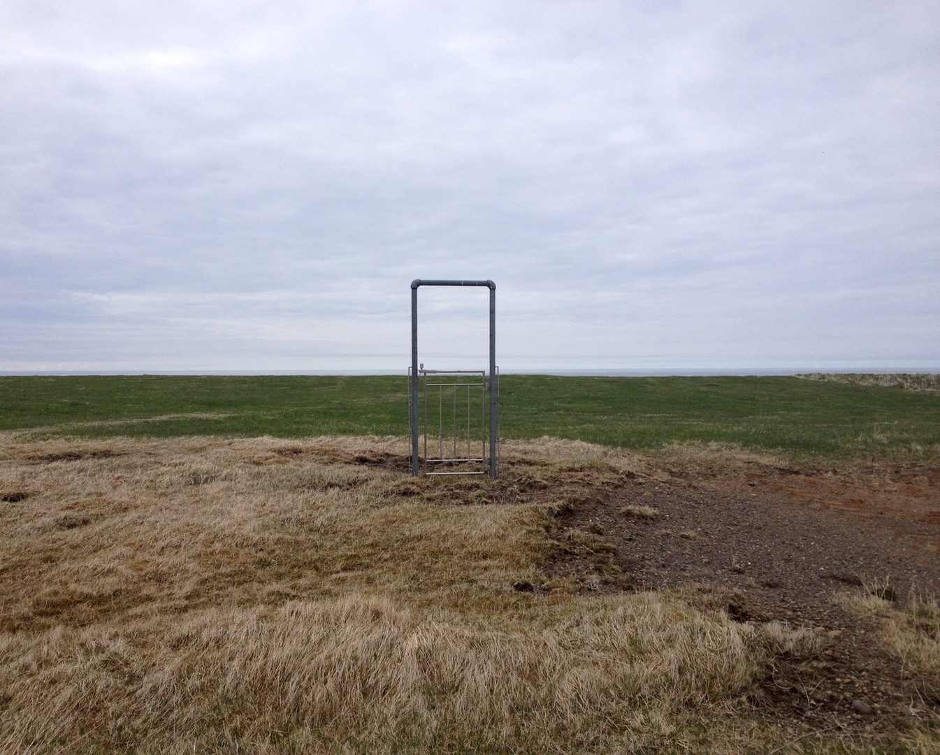 The fenceless gate