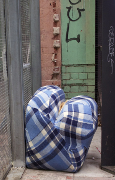 Clam, 2013.  Found, Magdelan Laundry Abbotsford Convent.  Dimensions variable.  Image courtesy of artist