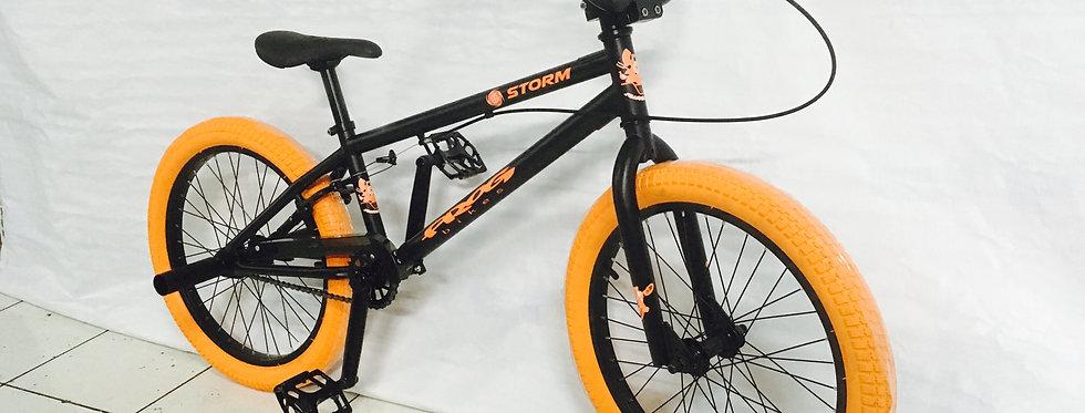 Biker BMX Aro 20 Naranja con Negro