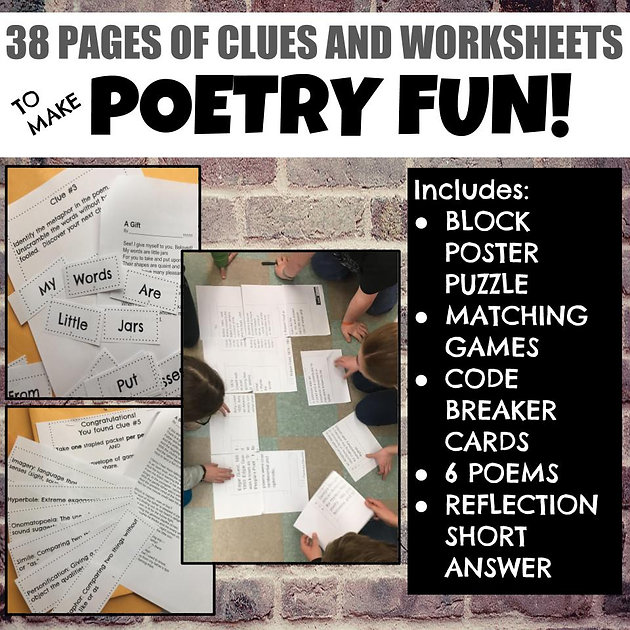 Interactive Poetry Activities Your Students Will Love