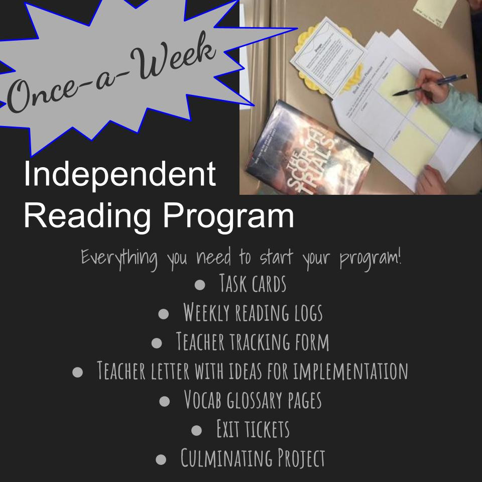 Common Core Standards Aligned Independent Reading Program