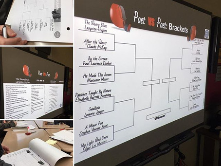 Celebrating March Madness with Poetry Brackets
