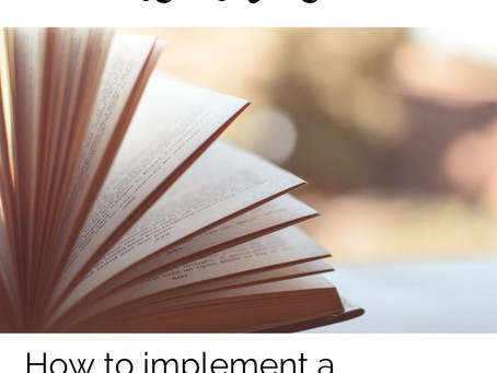 Reading Brings Us Closer: How to Implement a Community Read Aloud