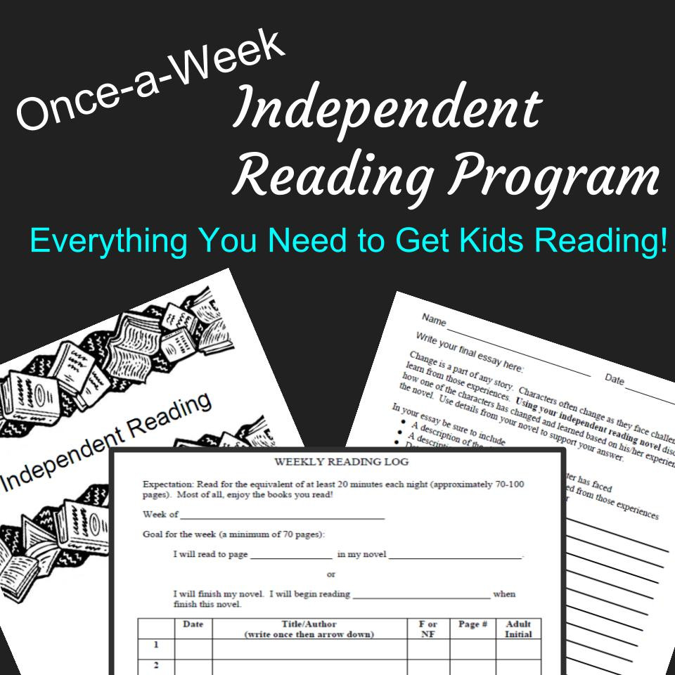 Common Core Aligned Independent Reading Program