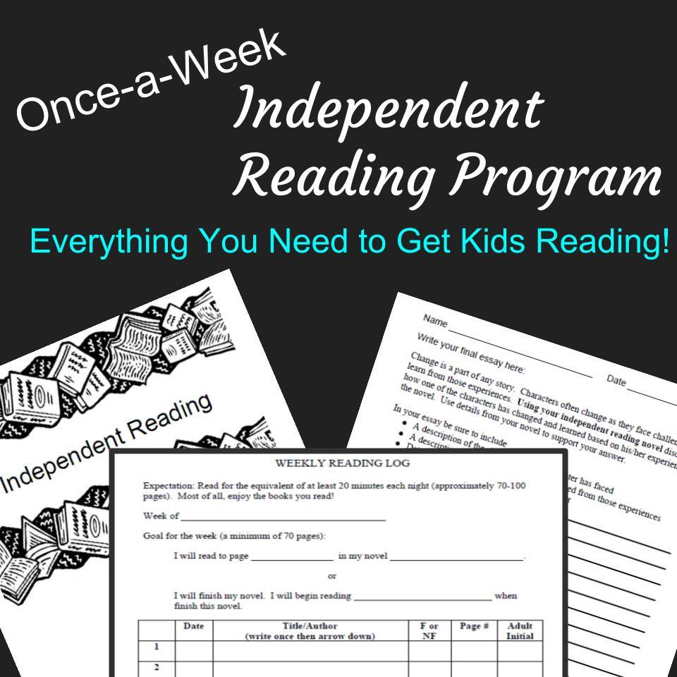 Common Core Aligned Independent Reading Program