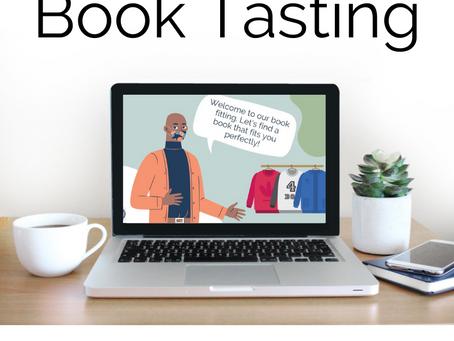 Creating a Digital Book Tasting