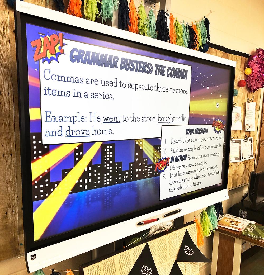Grammar Busters Grammar Warm-Ups