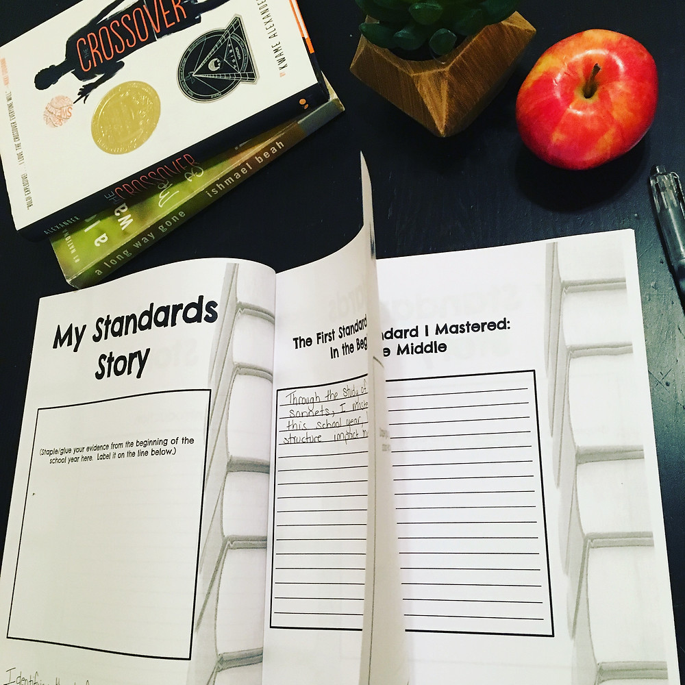 My Standards Story gives students the opportunity to tell their story of learning, growth, and mastery.