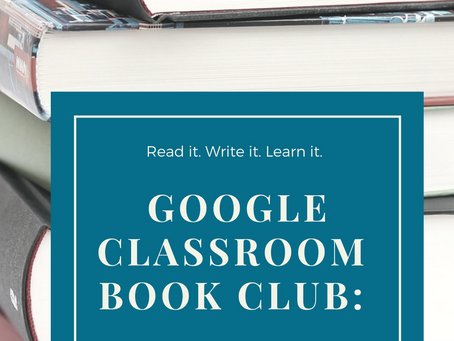 Google Classroom Book Club: How to engage your student readers online