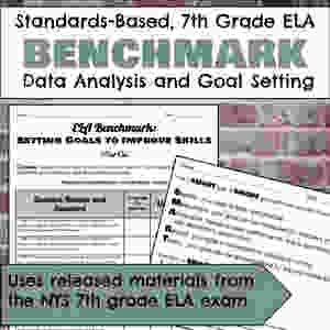 Benchmarking Materials for 7th grade ELA