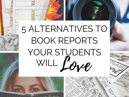 Five Alternatives to Book Reports Your Students Will Love