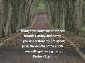 Walking Through Troubles