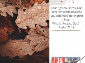 Who is Like You, God?