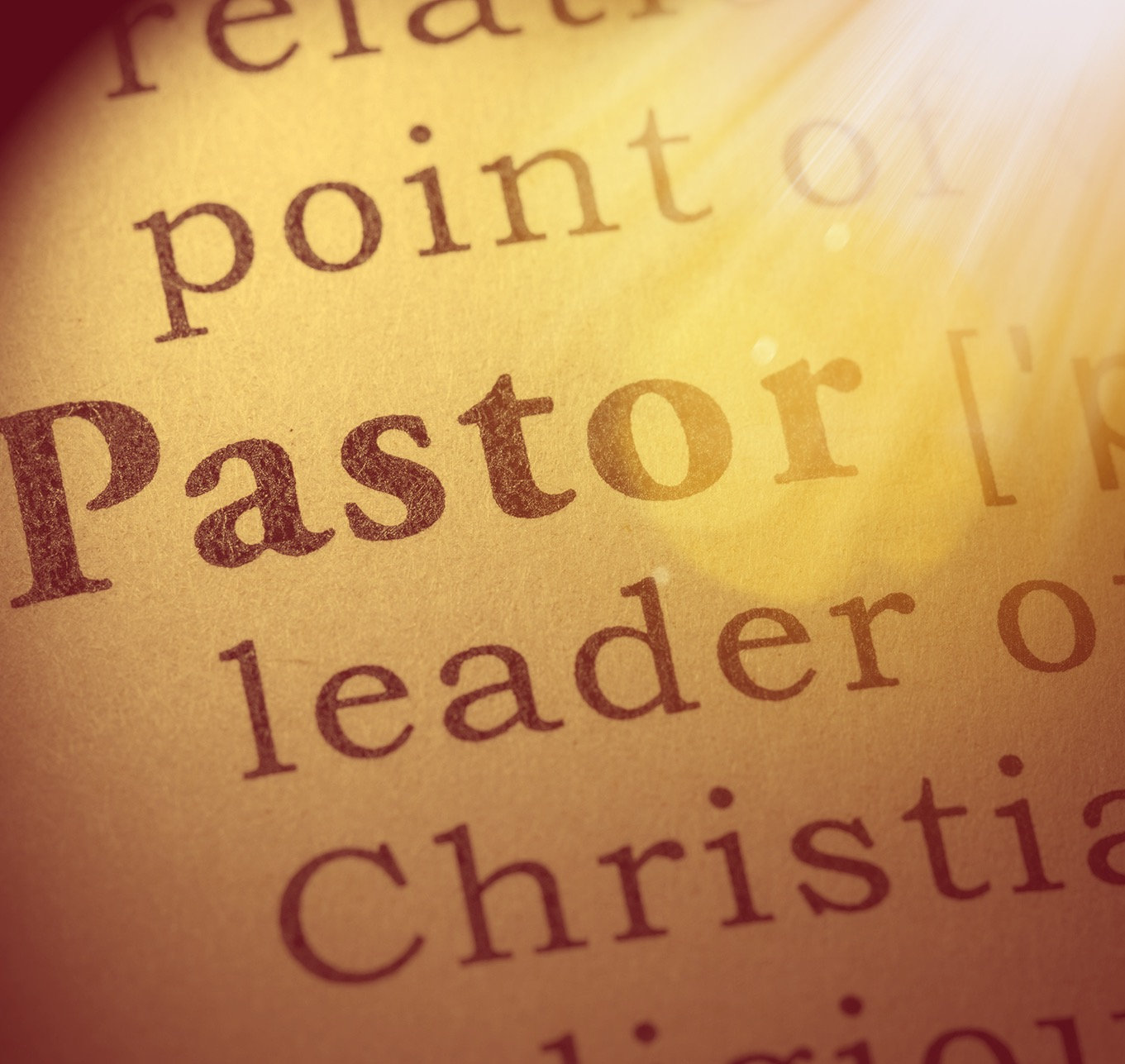 Phase II Fall DPG 203: Defining Pastor