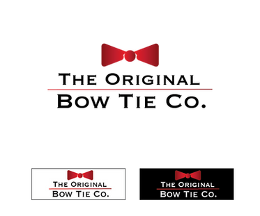 The Original Bow Tie Co - Burgundy + Lab