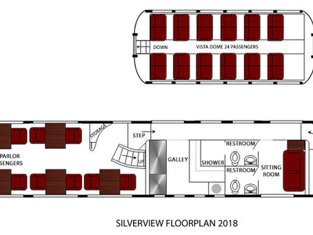 Silver View - Updated Floor Plan for 2018