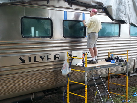 Silver View restoration is back on track
