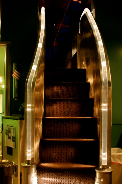 Stairway to the Vista Dome of Silver Splendor