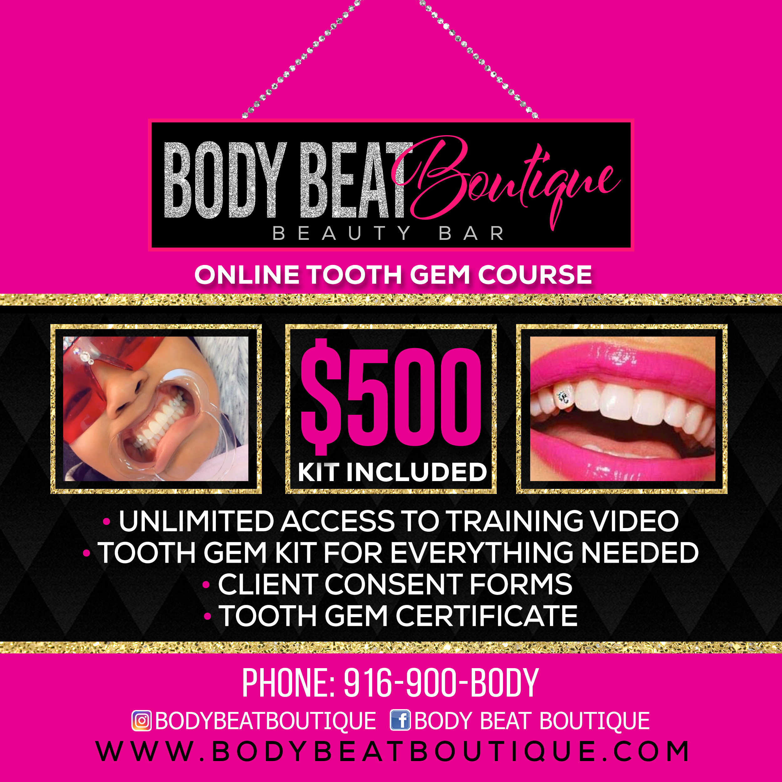 Online Tooth Gem Training